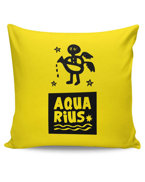 PosterGuy | Aquarius Dark Purple Zodiac Sign Gifts Cushion Cover Online India