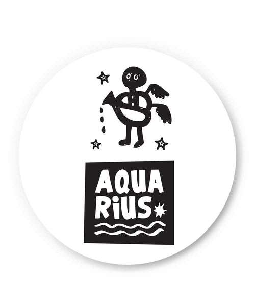 Aquarius | Zodiac Sign Gifts  Fridge Magnet Online India