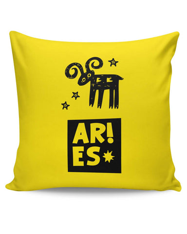 PosterGuy | Aries Red Zodiac Sign Gifts Cushion Cover Online India