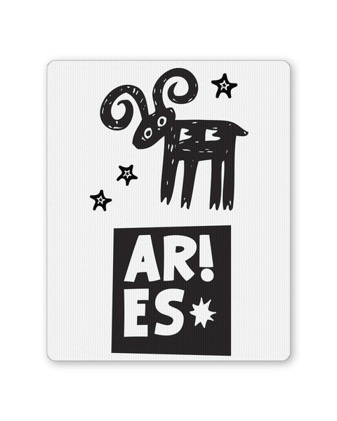 Mouse Pads | Aries | Zodiac Sign Gifts  Mousepad Online India | PosterGuy.in