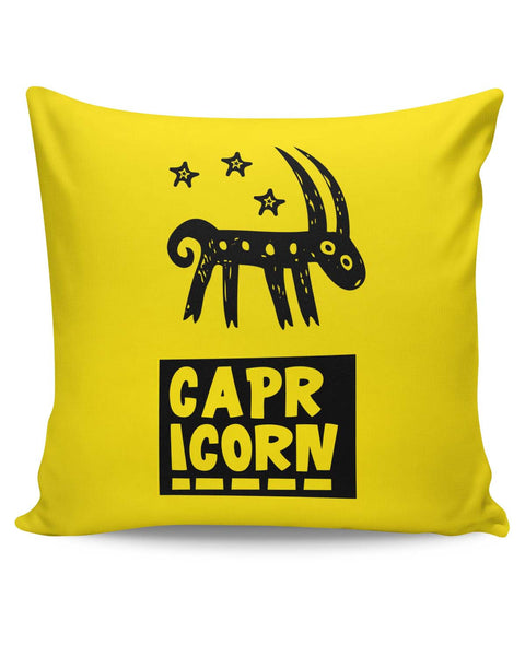 PosterGuy | Capricorn Dark Blue Zodiac Sign Gifts Cushion Cover Online India