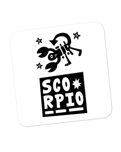 Scorpio | Zodiac Sign Gifts  Coaster Online India