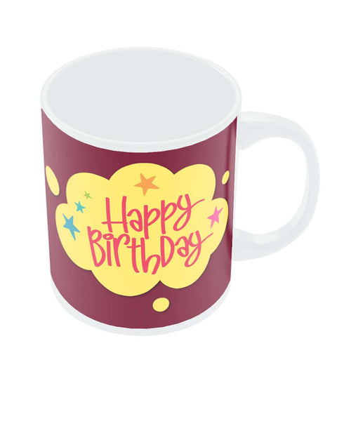 Happy Birthday  Coffee Mug Online India