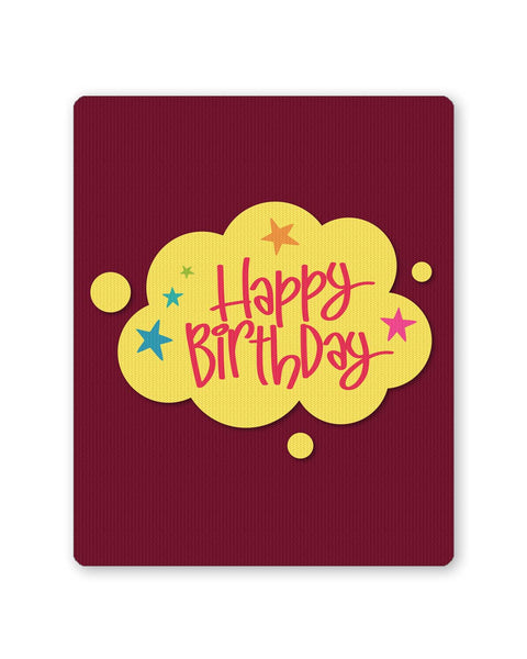 Mouse Pads | Happy Birthday Mouse Pad Online India | PosterGuy.in