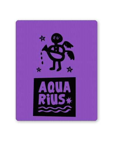 Mouse Pads | Aquarius Dark Purple | Zodiac Sign Gifts  Mousepad Online India | PosterGuy.in