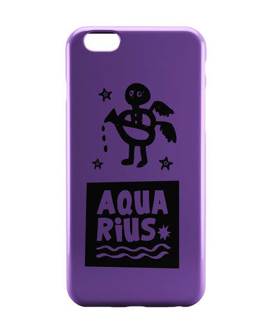 iPhone 6 Case & iPhone 6S Case | Aquarius Dark Purple | Zodiac Sign Gifts  iPhone 6 | iPhone 6S Case Online India | PosterGuy
