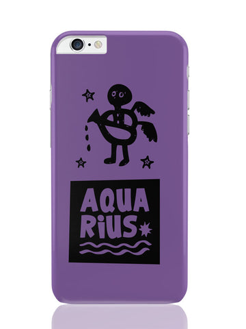 iPhone 6 Plus / 6S Plus Covers & Cases | Aquarius Dark Purple | Zodiac Sign Gifts iPhone 6 Plus / 6S Plus Covers and Cases Online India