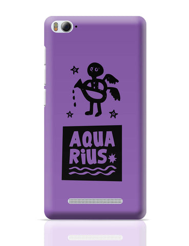 Xiaomi Mi 4i Covers | Aquarius Dark Purple | Zodiac Sign Gifts Xiaomi Mi 4i Cover Online India