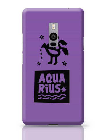 OnePlus Two Covers | Aquarius Dark Purple | Zodiac Sign Gifts OnePlus Two Cover Online India