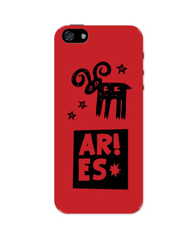 Aries Red | Zodiac Sign Gifts  iPhone 5 / 5S Case