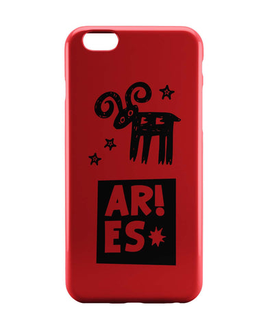 iPhone 6 Case & iPhone 6S Case | Aries Red | Zodiac Sign Gifts  iPhone 6 | iPhone 6S Case Online India | PosterGuy