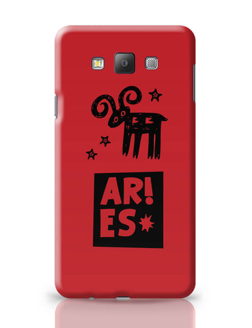 Samsung Galaxy A7 Covers | Aries Red | Zodiac Sign Gifts Samsung Galaxy A7 Covers Online India