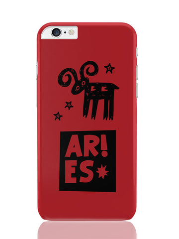 iPhone 6 Plus / 6S Plus Covers & Cases | Aries Red | Zodiac Sign Gifts iPhone 6 Plus / 6S Plus Covers and Cases Online India