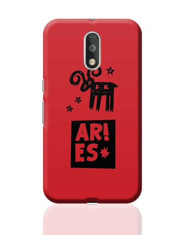 Aries Red | Zodiac Sign Gifts  Moto G4 Plus Online India