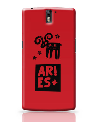 OnePlus One Covers | Aries Red | Zodiac Sign Gifts OnePlus One Covers Online India