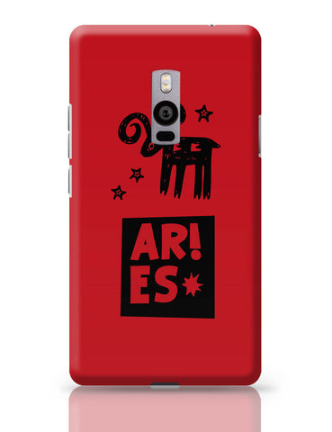 OnePlus Two Covers | Aries Red | Zodiac Sign Gifts OnePlus Two Cover Online India