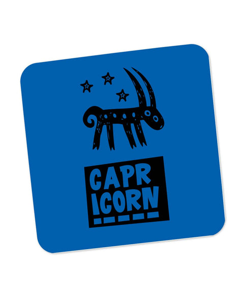 Capricorn Dark Blue | Zodiac Sign Gifts  Coaster Online India