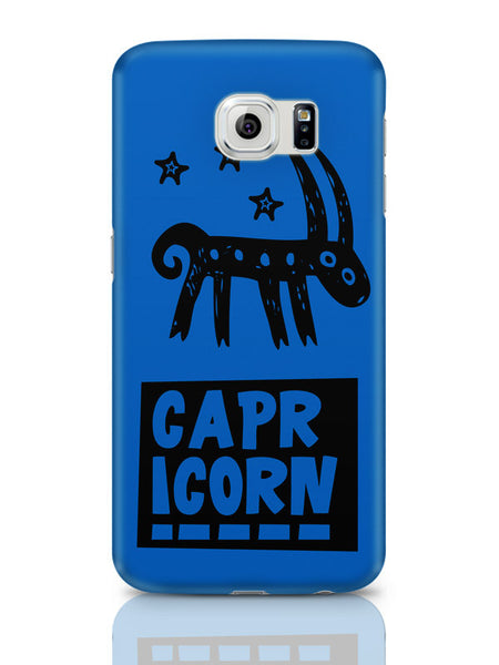 Samsung Galaxy S6 Covers & Cases | Capricorn Dark Blue | Zodiac Sign Gifts Samsung Galaxy S6 Covers & Cases Online India