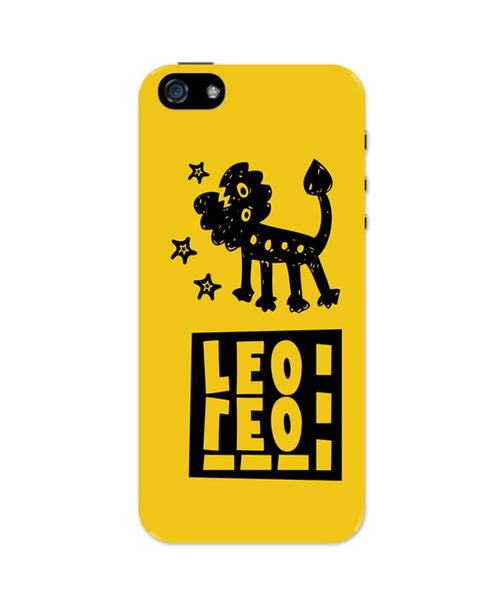 Leo Yellow | Zodiac Sign Gifts  iPhone 5 / 5S Case