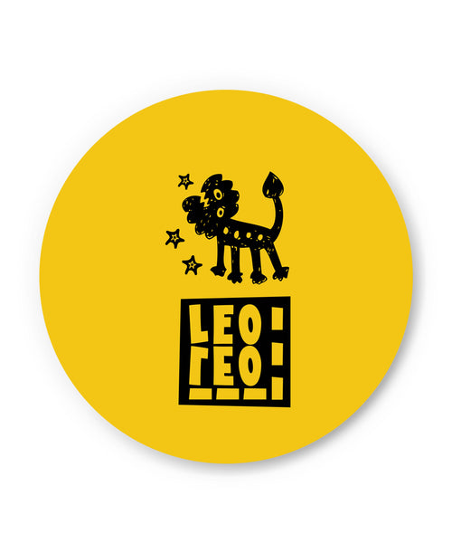 Leo Yellow | Zodiac Sign Gifts  Fridge Magnet Online India