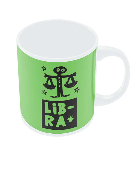 Libra Green | Zodiac Sign Gifts  Coffee Mug Online India