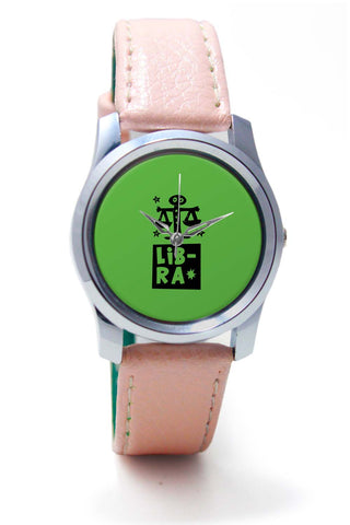 Women Wrist Watches India | Libra Green | Zodiac Sign Gifts  Wrist Watch Online India