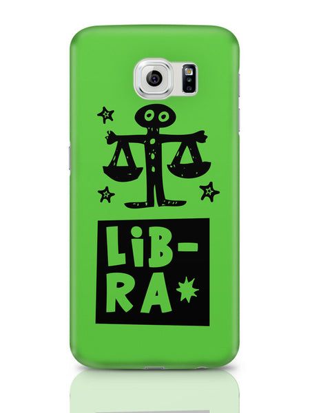 Samsung Galaxy S6 Covers & Cases | Libra Green | Zodiac Sign Gifts Samsung Galaxy S6 Covers & Cases Online India