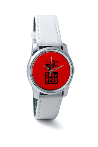 Women Wrist Watches India | Scorpio Red | Zodiac Sign Gifts  Wrist Watch Online India