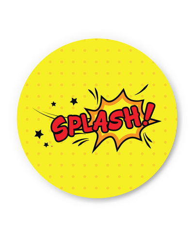Splash Comic Sound Quirky Illustration Fridge Magnet Online India