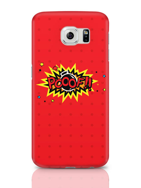 Samsung Galaxy S6 Covers & Cases | Pooof Comic Sound Quirky Illustration Samsung Galaxy S6 Covers & Cases Online India