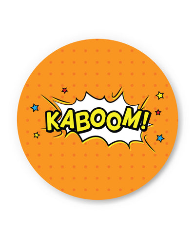 Kaboom Comic Sound Quirky Illustration Fridge Magnet Online India