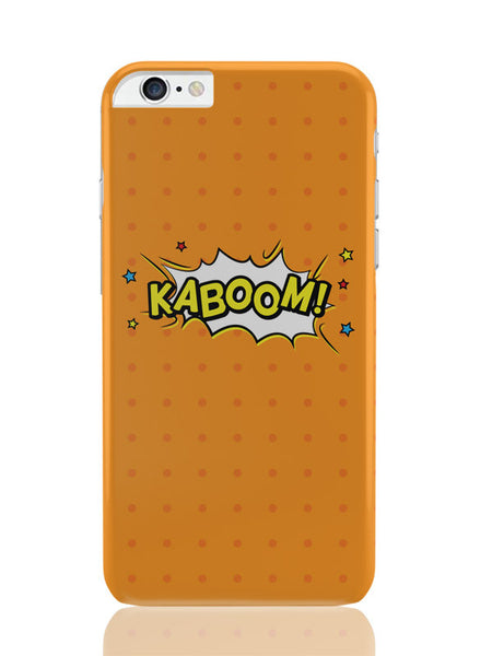 iPhone 6 Plus / 6S Plus Covers & Cases | Kaboom Comic Sound Quirky Illustration iPhone 6 Plus / 6S Plus Covers and Cases Online India