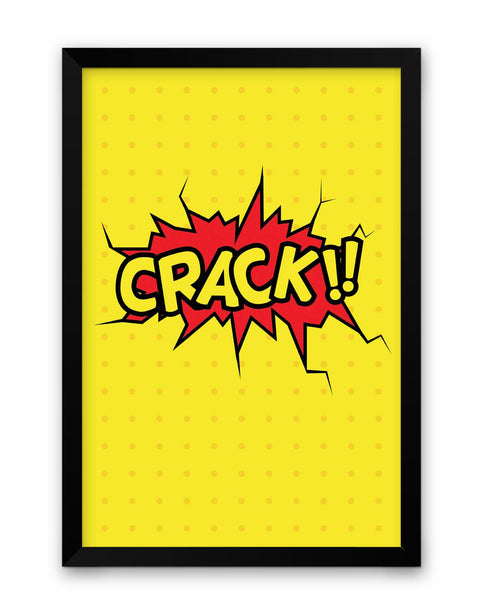 Buy Crack Comic Sound Quirky Illustration