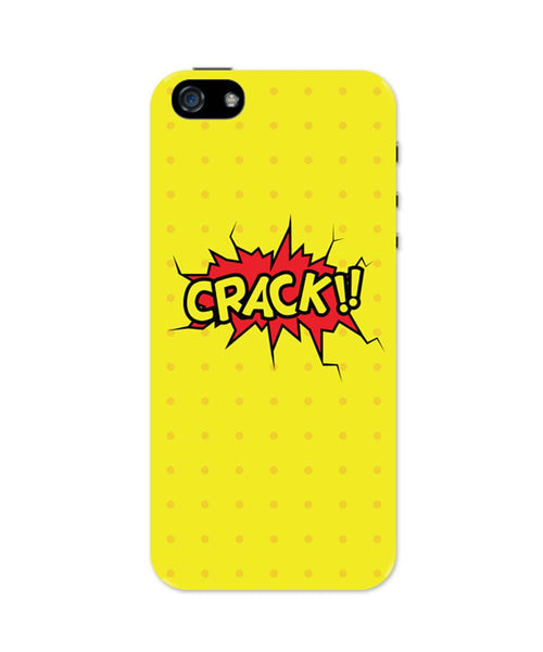 Crack Comic Sound Quirky Illustration iPhone 5 / 5S Case