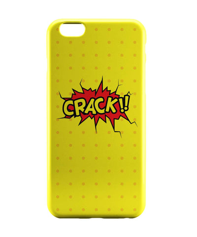 iPhone 6 Case & iPhone 6S Case | Crack Comic Sound Quirky Illustration iPhone 6 | iPhone 6S Case Online India | PosterGuy