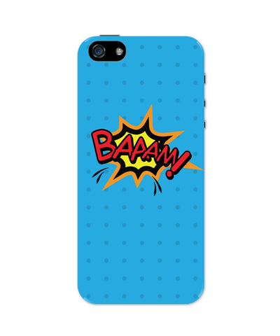 Baaam Comic Sound Quirky Illustration iPhone 5 / 5S Case