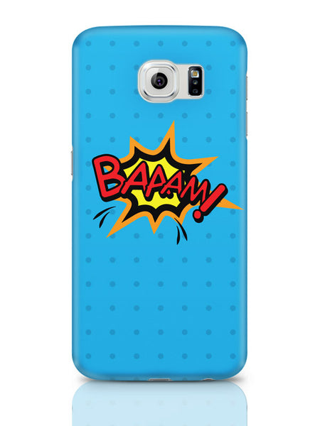 Samsung Galaxy S6 Covers & Cases | Baaam Comic Sound Quirky Illustration Samsung Galaxy S6 Covers & Cases Online India