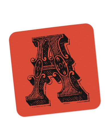 Coasters | Alphabet A Coaster 1013408329 Online India | PosterGuy.in