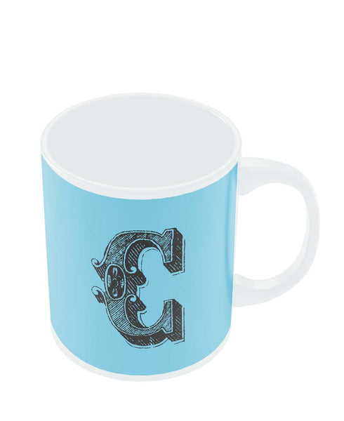 Alphabet C Coffee Mug Online India