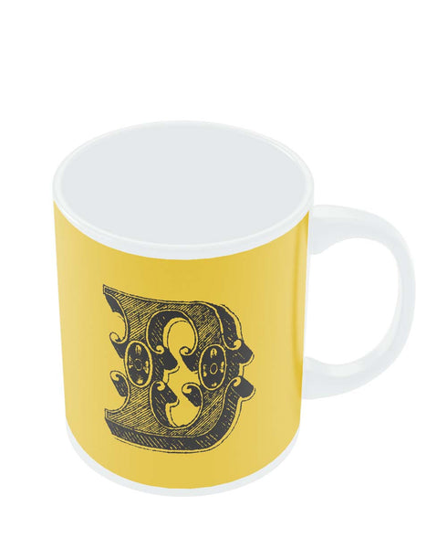 Alphabet D Coffee Mug Online India