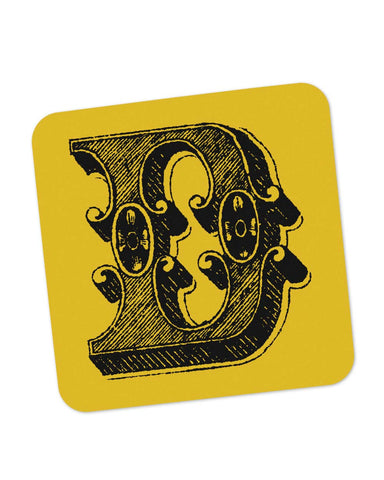 Coasters | Alphabet D Coaster 1013438329 Online India | PosterGuy.in