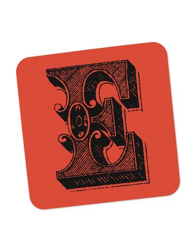 Coasters | Alphabet E Coaster 1013448329 Online India | PosterGuy.in