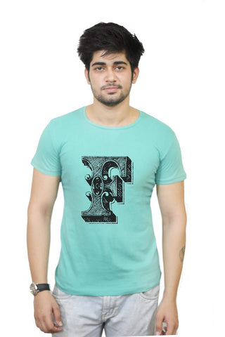 Buy Funny T-Shirts Online India | Alphabet F T-Shirt Funky, Cool, T-Shirts | PosterGuy.in