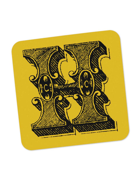 Coasters | Alphabet H Coaster 1013478329 Online India | PosterGuy.in
