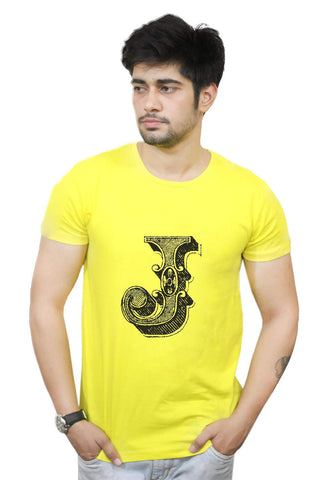 Buy Funny T-Shirts Online India | Alphabet J T-Shirt Funky, Cool, T-Shirts | PosterGuy.in