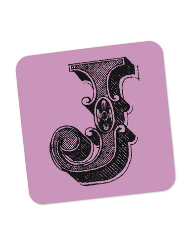 Coasters | Alphabet J Coaster 1013498329 Online India | PosterGuy.in