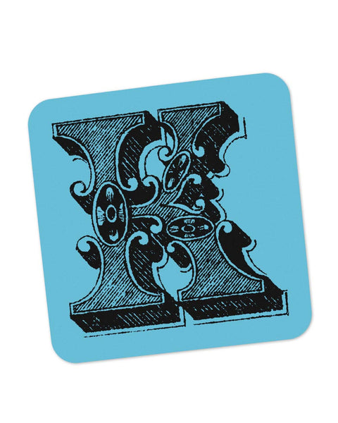 Coasters | Alphabet K Coaster 1013508329 Online India | PosterGuy.in