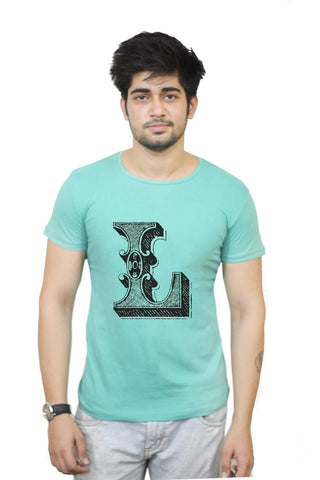 Buy Funny T-Shirts Online India | Alphabet L T-Shirt Funky, Cool, T-Shirts | PosterGuy.in
