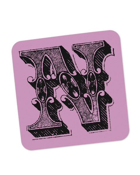 Coasters | Alphabet N Coaster 1013538329 Online India | PosterGuy.in
