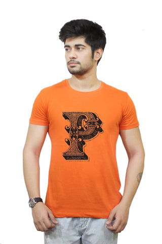 Buy Funny T-Shirts Online India | Alphabet P T-Shirt Funky, Cool, T-Shirts | PosterGuy.in